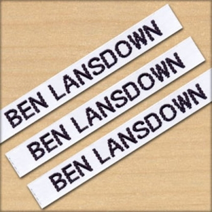 Picture of Name Tapes