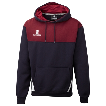 Picture of Blade Hoody : Navy / Maroon / White