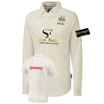 Picture of Droitwich Spa CC Adult Long Sleeve Match Shirt