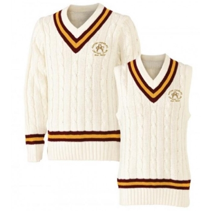 Picture of Ashton Under Hill CC Short Sleeve Match Acrylic Jumper