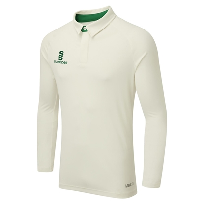 Picture of SURRIDGE TEK LONG SLEEVE CRICKET SHIRT