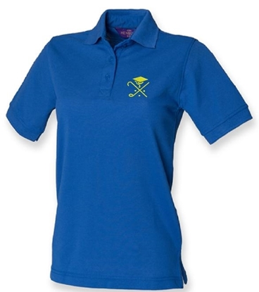 Picture of Pedagogues Golf Society Ladies Royal Cotton Polo