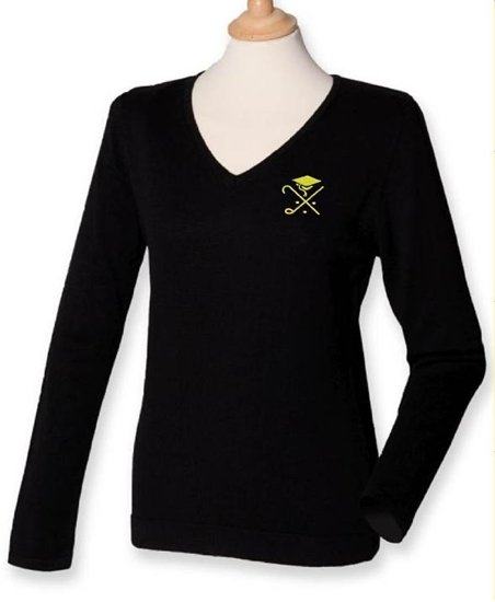 Picture of Pedagogues Golf Society Ladies Navy  LS Jumper