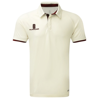 Picture of SURRIDGE TEK SHORT SLEEVE CRICKET SHIRT