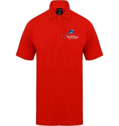 Picture of Bettridge School Red Staff Polo