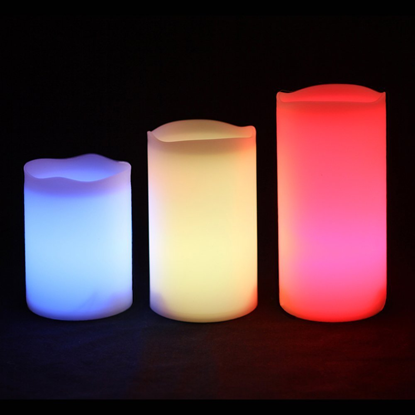 Picture of Mooncandles Outdoor Colour Changing LED Candles With RC