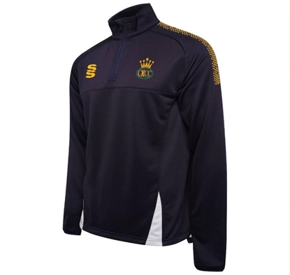 Picture of Charlton Kings CC 1/4 Zip Performance Top
