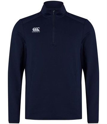 Picture of Canterbury Club Zip Neck Mid Layer Training Top