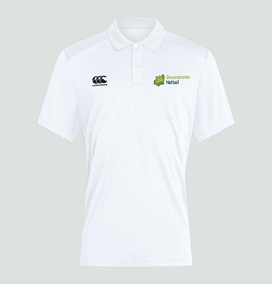 Picture of Gloucestershire Netball Umpire Polo