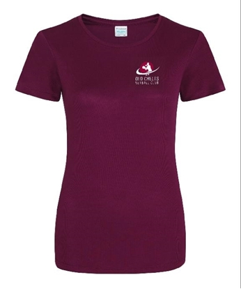 Picture of Old Chelts Adult Maroon T-Shirt