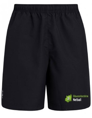 Picture of Gloucestershire Netball Umpire Shorts